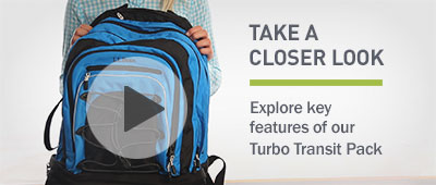Watch the video about our Turbo Transit Pack