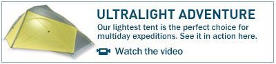 Our lightest tent is the perfect choice for multiday expeditions. See it in action here.