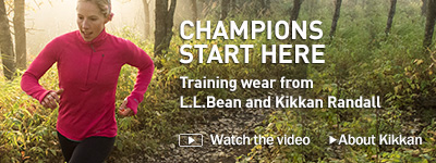 Champions start here. Training wear from L.L.Bean and Kikkan Randall.