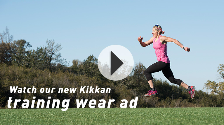 Watch our new Kikkan training wear ad.