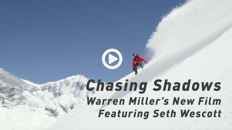 Chasing Shadows, Warren Miller's New Film Featuring Seth Wescott.