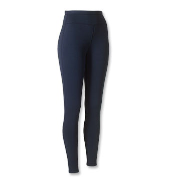 Polartec Power Stretch Tights, made with high-performance insulated fabric.