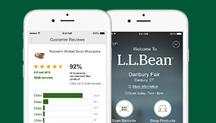 The L.L.Bean App – Tap. Shop. Discover. Hundreds of products. Thousands of reviews. Our easiest shopping experience yet.