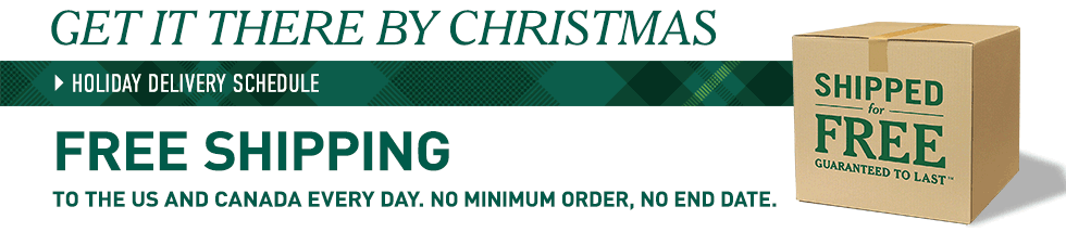 Free Shipping from L.L.Bean. No minimum order, no end date.