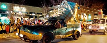 The L.L.Bean Bootmobile in the Freeport parade