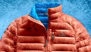 The Ultralight 850 Down Jacket with warm, light and water-repellent DownTek is designed to keep you warm to -25°.
