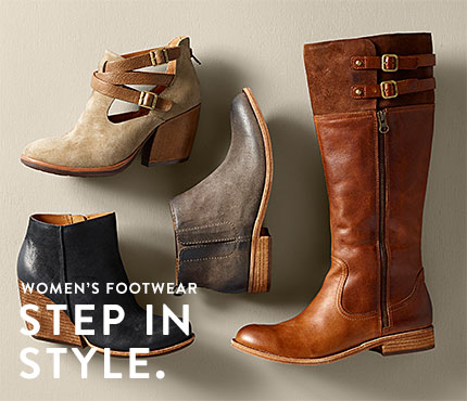 Women's Footwear. Step in Style.