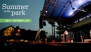 Summer in the Park Events Schedule
