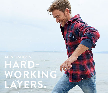 Men's Shirts. Hard-Working Layers.