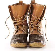 76b30b8913121 Men's Signature Waxed-Canvas Maine Hunting Shoe, 10