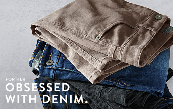 For Her Obsessed With Denim.