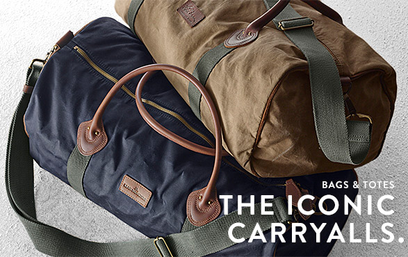 BAGS & TOTES. THE ICONIC CARRYALLS.