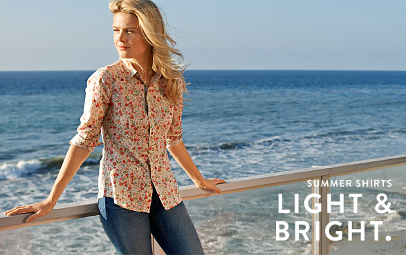 SUMMER SHIRTS. LIGHT & BRIGHT.