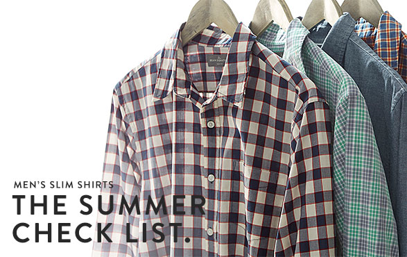 THE SUMMER CHECK LIST.