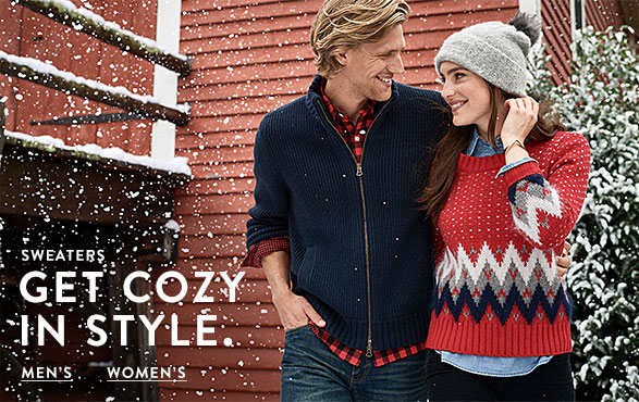 GET COZY IN STYLE