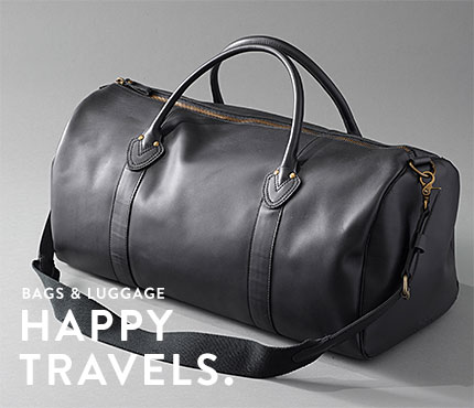 Bags & Luggage. Happy Travels.