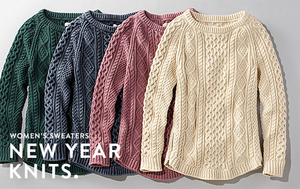 Women's Sweaters. New Year Knits
