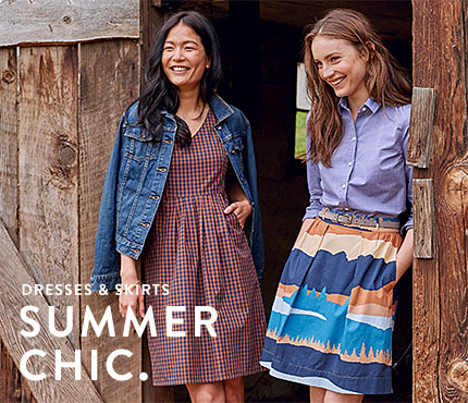 Women's Dresses. Summer Chic.