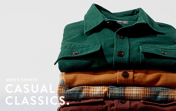 Men's Shirts. Casual Classics.