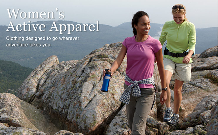 from L.L.Bean. Clothing designed to go wherever adventure takes you