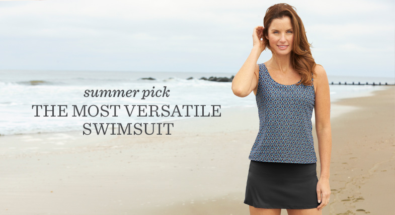 Summer pick. The Most Versatile Swimsuit.