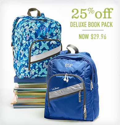 25% off Deluxe Book Pack.