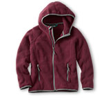 Boys' Trail Model Fleece Hooded Jacket.