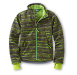 Boys' Wonderfleece Print Soft-Shell Jacket.
