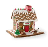 Personalized Gingerbread Cottage.