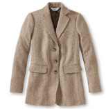 Women's Wool/Cashmere Jacket, Boucle.