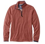 Casco Bay Quarter-Zip Long-Sleeve Shirt.
