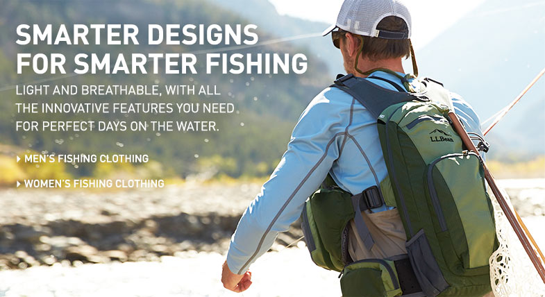 SMARTER DESIGNS FOR SMARTER FISHING Light and breathable with all the innovative features you need for perfect days on the water.