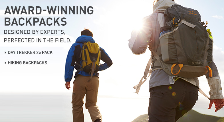 Award-Winning Backpacks: Designed by experts, perfected in the field.