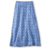 Women's Premium Washable Linen Skirt.