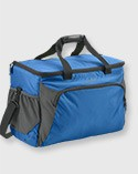 Blue softpack cooler