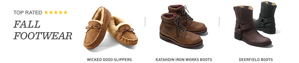 Top-rated fall footwear.