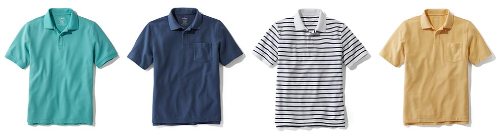 More Men's Polo Shirts.