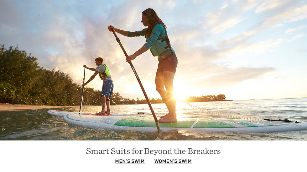 Smart suits for beyond the breakers.