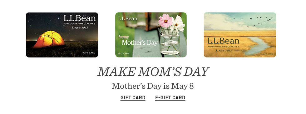 Make Mom's day. Mother's Day is May 8.