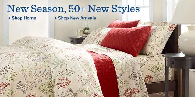 New Season, over 50 new styles. L.L.Bean Home. Shop New Arrivals for the Home.