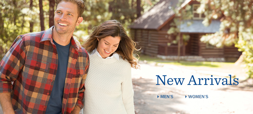 New Arrivals for Men at L.L.Bean. New Arrivals for Women at L.L.Bean