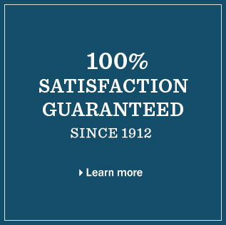 100% guaranteed. At L.L.Bean, your satisfaction doesn't have a time limit.