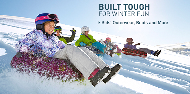 Built tough for winter fun. Kids' outerwear at L.L.Bean.