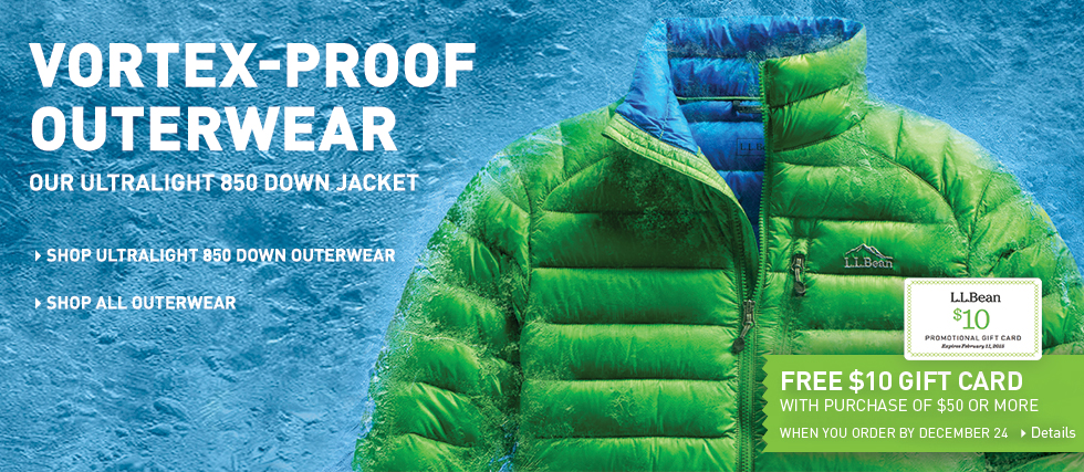 Vortex-Proof Outerwear. Our Ultralight 850 Down Jacket.
