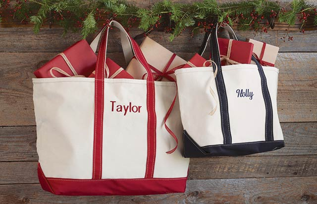 L.L.Bean Boat & Tote Bags, made in Maine since 1944.