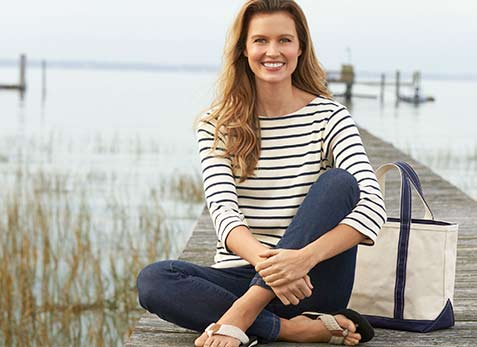 Unbeatable quality, impeccable style. Women's tees and knit tops from L.L.Bean.