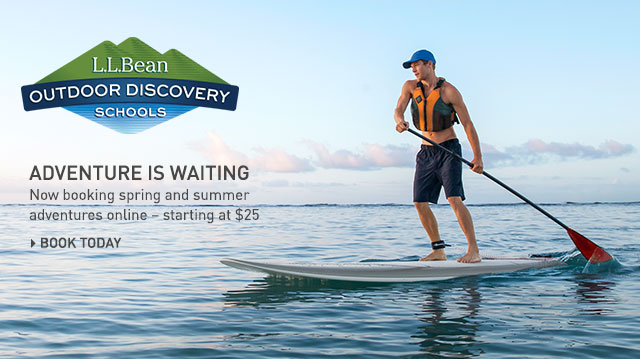 Join our experts for exciting courses, trips and tours at L.L.Bean Outdoor Discovery Schools.