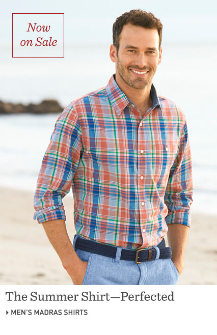 The Summer Shirt, Perfected. Men's Linen Shirts at L.L.Bean.