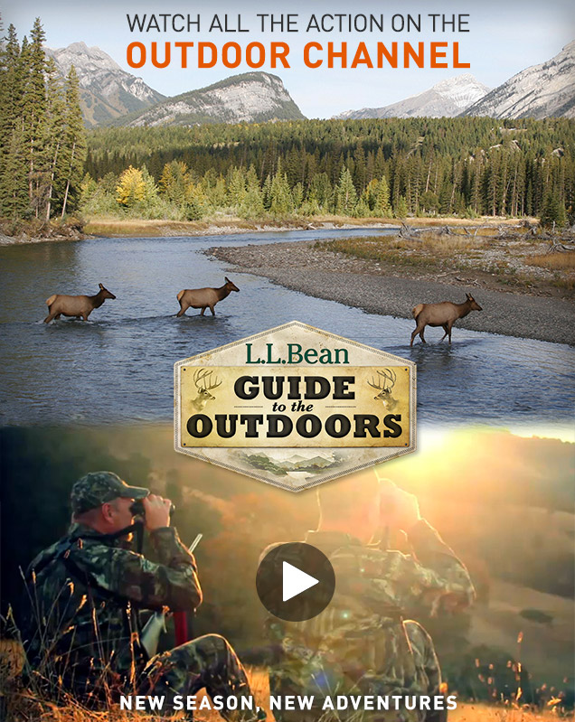 Watch All the Action on the Outdoor Channel. New Season, New Adventure.