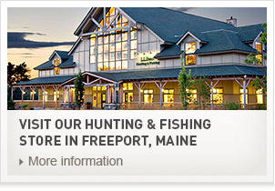 Visit our Hunting & Fishing Store in Freeport, Maine